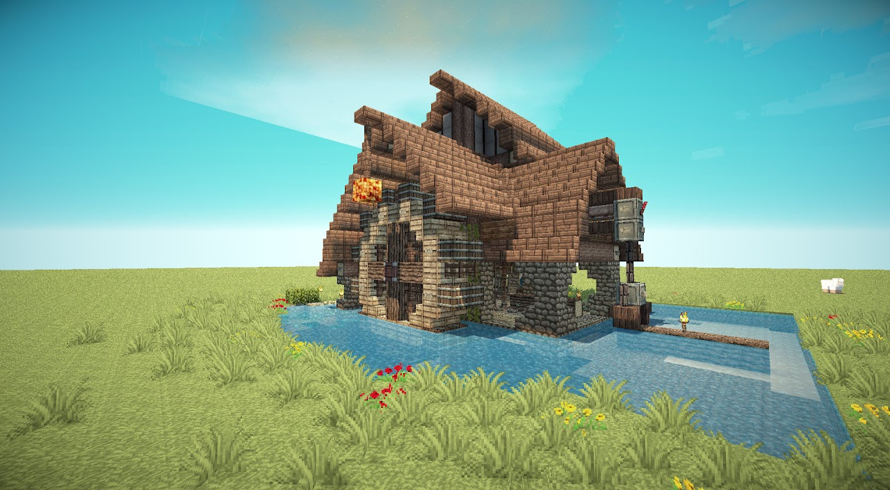 Meval Town Minecraft Lumber Mill