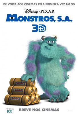 Enviar Monstros S.A. 3D para o Twitter