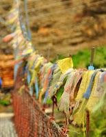 Prayer flags - Chame