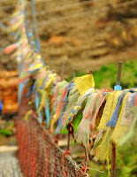 Prayer flags - Chame