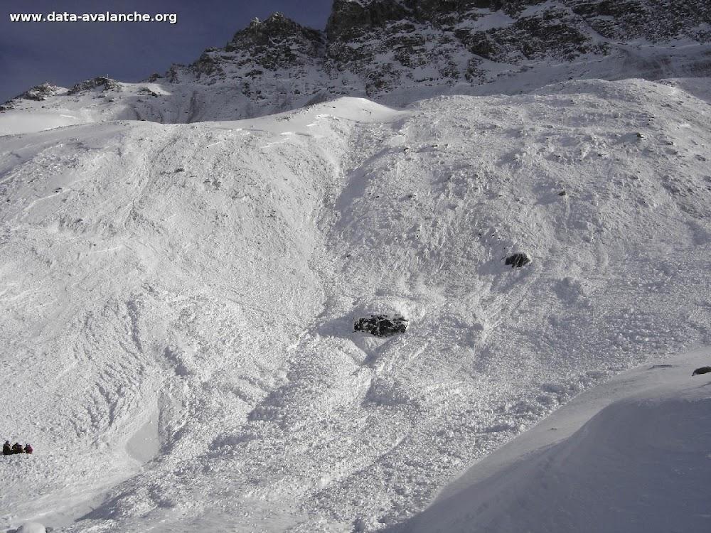 Avalanche Haute Maurienne, secteur Pointe d'Andagne - Photo 1 - © PGHM Modane