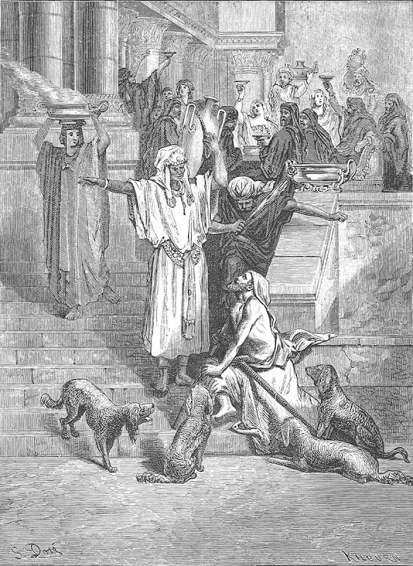Lazarus at Rich Mans house