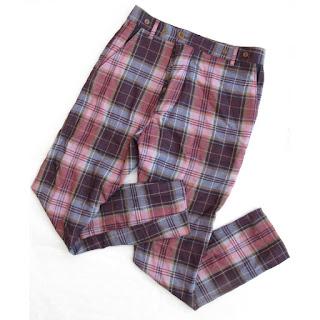Vivienne Westwood Plaid Trousers