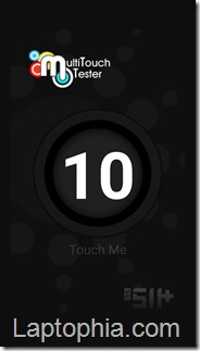 Multitouch Tester Xiaomi Redmi Note 2