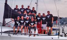 J/111 Stampeder crew- Chester, Nova Scotia
