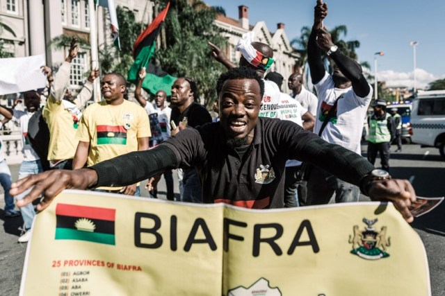 JUST IN: Jubilation Erupts Enugu As King of OPI Nsukka Supports Establishment of IPOB Family across Opi community