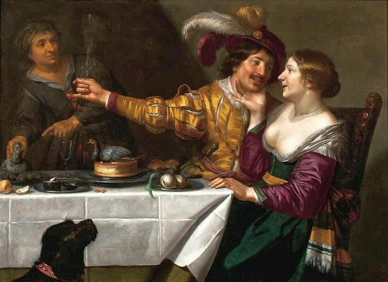 Jan van Bijlert - The Procuress