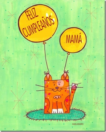 FELIZ CUMPLEAÑOS MAMA W