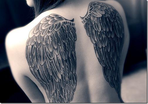 Creative ange aile tatouages id es et photos de tatouages - Tatouage femme ange ...
