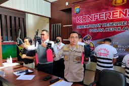 Empat Orang Pelaku Pencurian Dengan Kekerasan Diciduk Polisi