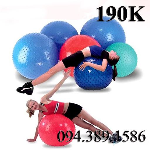 Bóng Tập Yoga Trơn giá rẻ nhất hà nội -bóng tập gym ball ,yoga ball