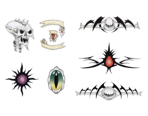 Design Of Horror Tattoo 15, Fantasy Tattoo Designs