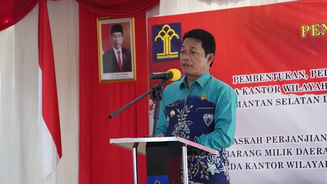 Abdul Hadi Komitmen Jamin Kepastian Hukum bagi Masyarakat Balangan