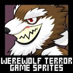 Werewolf Terror Game Sprites