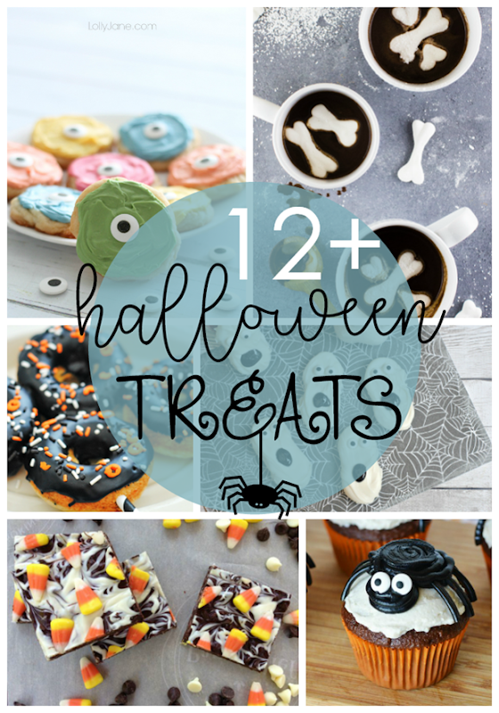 12  Halloween Treats  at GingerSnapCrafts.com #halloween #treats