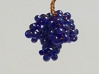 Бисероплетение для самых-самых начинающих: Виноградная лоза