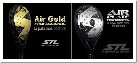 Modelos Air Gold y Air Plate de la firma Steel Custom 2016
