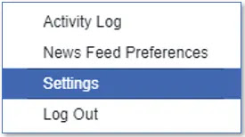 كيفية حفظ منشورات الفيسبوك