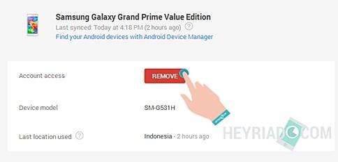 Cara menghapus akun gmail di Android lain Cara Menghapus Gmail di Perangkat Android Lain