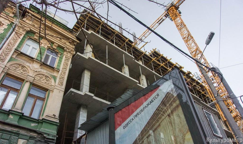 DSC06460 Одесская улица превратилась в сплошную пробку (ФОТО)