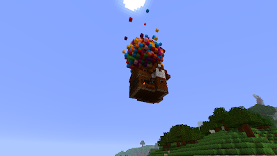 The House From Pixar's Up in Minecraft