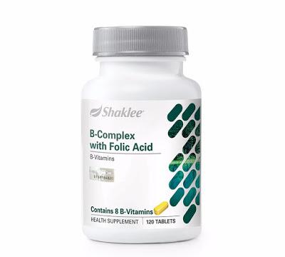 B Comple terdiri daripada 8 jenis Vitamin B