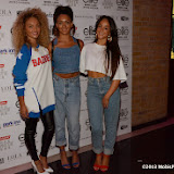 WWW.ENTSIMAGES.COM -   Karis Anderson, Courtney Rumbold and Alexandra Buggs of the band Stooshe   at  Elite Model Look – UK Contest Final  2013 -Elite Model Management shows off its future stars at The Brewery, Chiswell Street, London July 23rd 2013                                                       Photo Mobis Photos/OIC 0203 174 1069