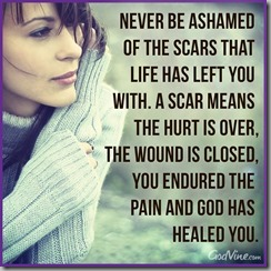never be ashamed of a scar 3
