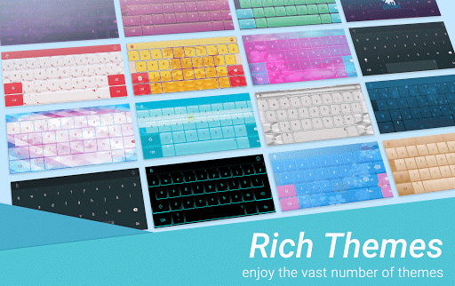 TouchPal Galaxy Keyboard Theme  screenshots 5