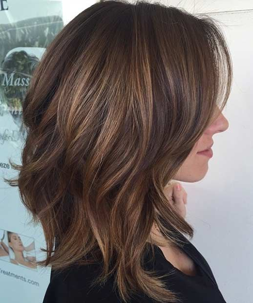 Medium Style Haircuts For Women's 2018-Medium Hairstyles 2018 4