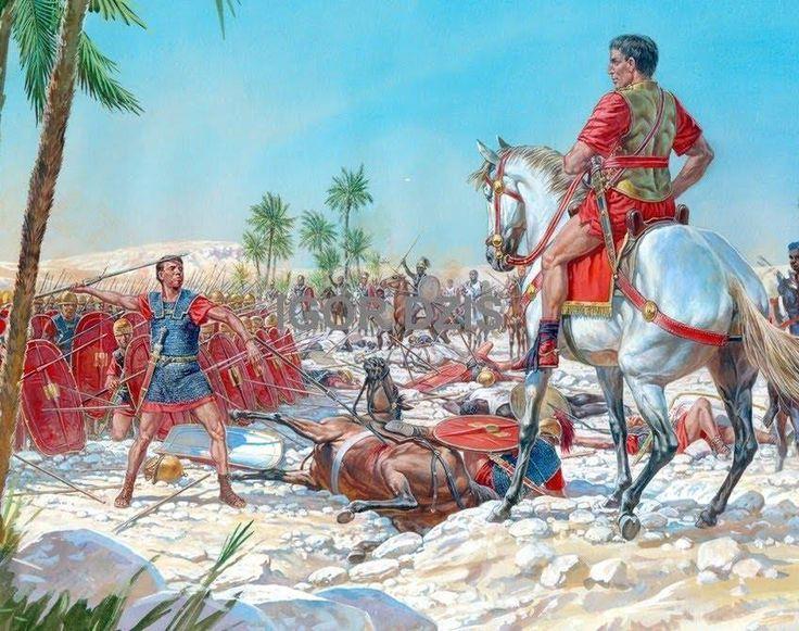 leader who julius caesar fought in the roman civil war