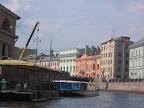 Docks on Moyka, near the Konyushennaya Square