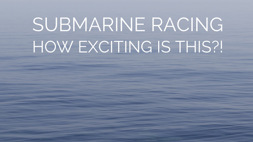 submarine racing ocean