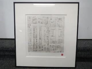 Terao Katsuhiro Etching: Timbers