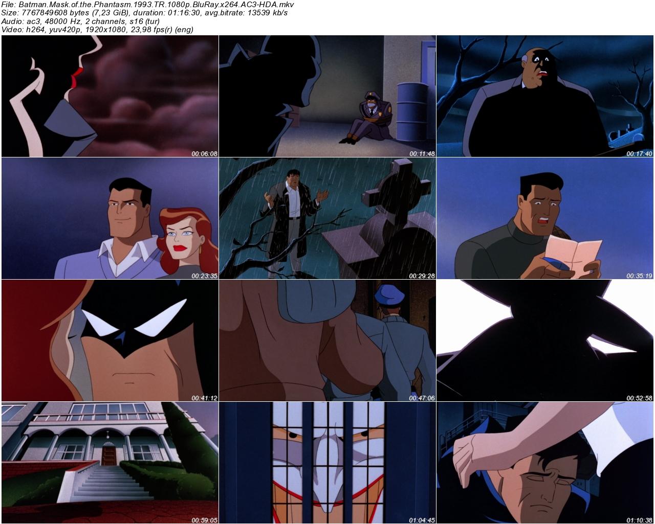 Batman Hayaletin Maskesi 1993 - 1080p 720p 480p - Türkçe Dublaj Tek Link indir