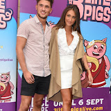 OIC - ENTSIMAGES.COM - Jordan Davies and Megan McKenna  at the  ENTS:  The 3 Little Pigs - VIP performance in London 6th August 2015 Photo Mobis Photos/OIC 0203 174 1069