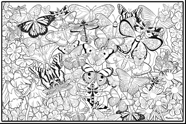 Good Printable Adult Coloring Pages Butterflies With Free Coloring Pages  For Adults To Print And Free