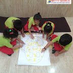 Rhyme Enactment Humpty Dumpty by Nursery Section at Witty World Bangur Nagar (2018-2019)