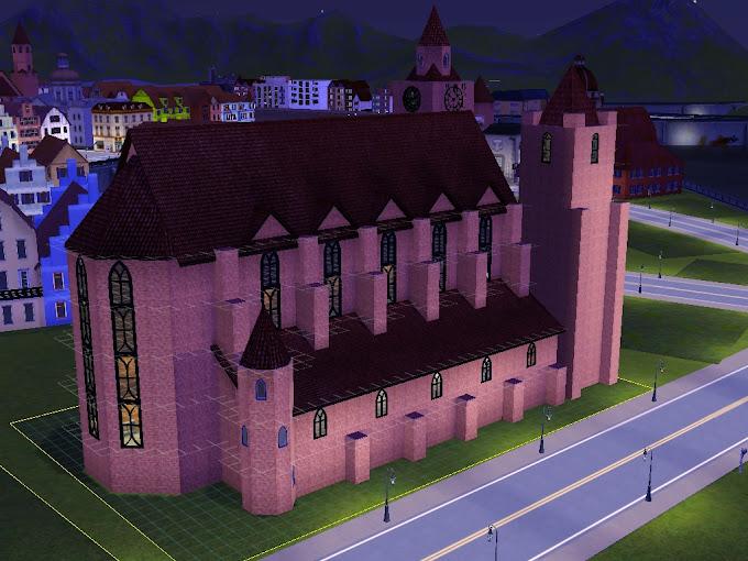 gotische kerk St.Erazm - Delsburg ( Sims3 )