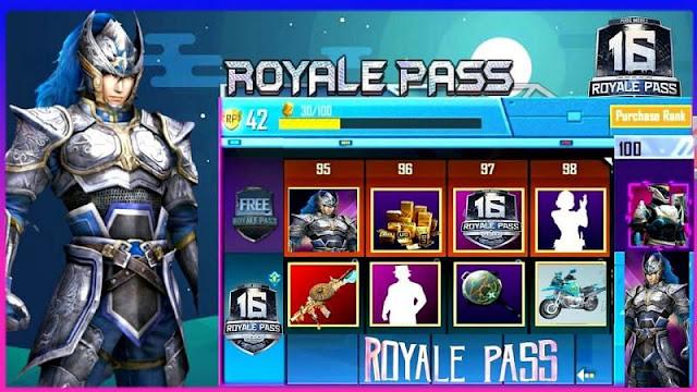 PUBG Mobile Sezon 16 Royale Pass: Sızan ödüller, çıkış tarihi ve daha fazlası