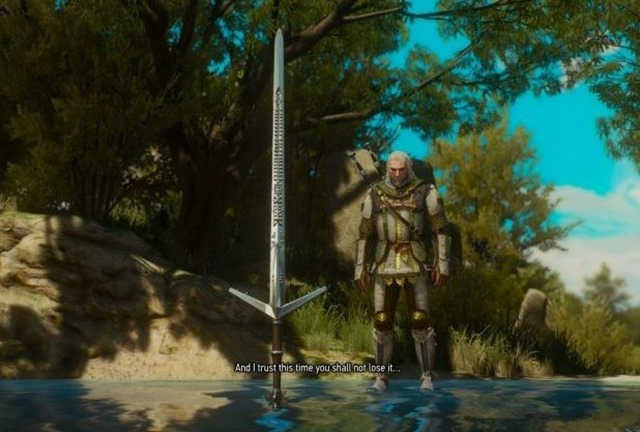 The Witcher 3: Blood and Wine ? Fundort des besten Schwerts (Aerondight Sword Guide)