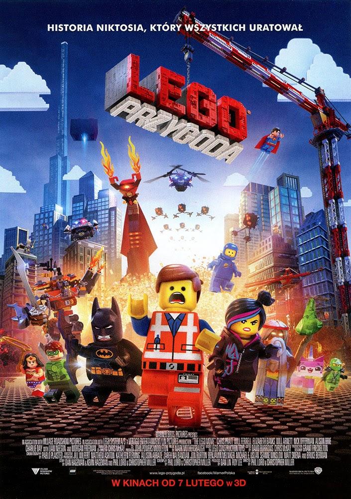 Ulotka filmu 'Lego Przygoda (przód)'