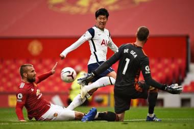 United Humiliated As Tottenham Struck Six At Old Trafford