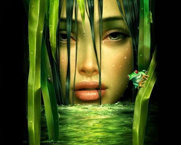 Undine Of Green Waters, Fairies 2