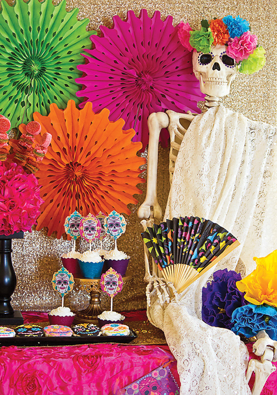 colorful-halloween-skull-decor