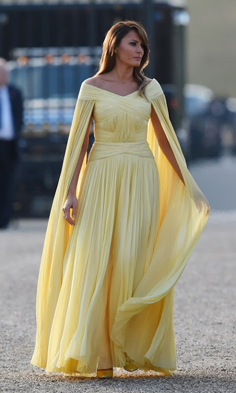 melania-trump-yellow-dress-j-mendel-2