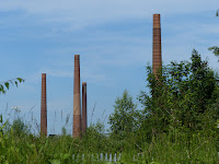 Stewartby chimneys