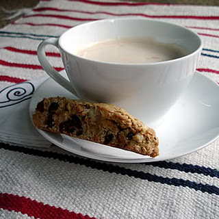 White-Chocolate, Hazelnut and Cranberries Biscotti Recipe