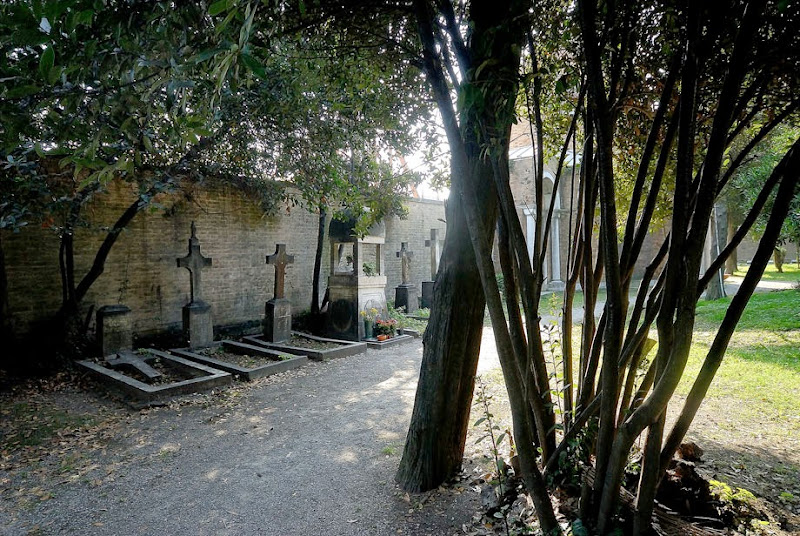 82. Sergei Diaghilev's grave. Island of San Michele Cemetry. Venice. 2006
