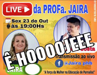 Candidata a vereadora de Parnaíba Professora Jaira realizará live para os internautas nesta sexta-feira (23)